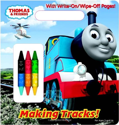 Making Tracks! (Thomas & Friends) (Write-On/Wipe-Off Activity Book)
