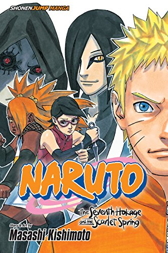 Naruto: The Seventh Hokage and the Scarlet Spring (English Edition)