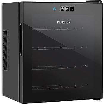 Klarstein Reserva - Nevera de vinos, Refrigerador bebidas, 34 L ...