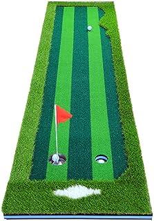 0.75 * 3M Golf Putting Trainer Indoor Office Course Green Green Apto para balcón y jardín Almacenamiento Conveniente (Colo...