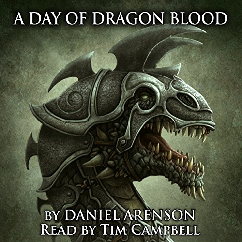 A Day of Dragon Blood audiobook cover art