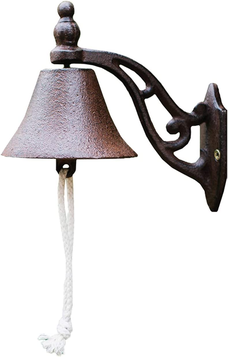 Large-scale sale BAO2021JI Door Bell Cast Iron Max 89% OFF Hanging Doorbell Sto Antique Style