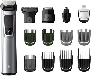 Sponsored Ad – Philips 14-in-1 All-In-One Trimmer, Premium Series 7000 Grooming Kit, Face Shaver, Beard Trimmer, Hair Clip...
