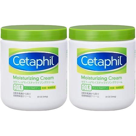 セタフィル Cetaphil ® モイスチャライジングクリーム 566g 2本組 ( フェイス & ボディ 保湿クリーム クリーム )