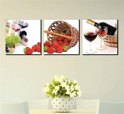 barato y de alta calidad Giow Pintura Moderna de la Pintura de la Fruta Fruta Fruta de la Cocina de la decoración del Restaurante (tamaño  50  50  2.5cm)  Ahorre 60% de descuento y envío rápido a todo el mundo.