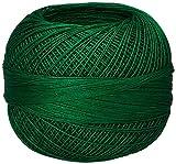 Handy Hands Lizbeth Premium Cotton Thread, Size 40, Christmas Green