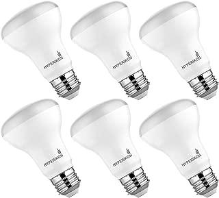 Hyperikon LED BR20 Bulb Dimmable, 50 Watt (7W), LED Light Bulbs E26, 2700k Warm, UL, Energy Star, 6 Pack