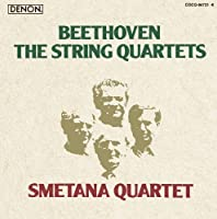 BEETHOVEN: THE STRING QUARTETS(8CD) by SMETANA QUARTET (2009-11-18)