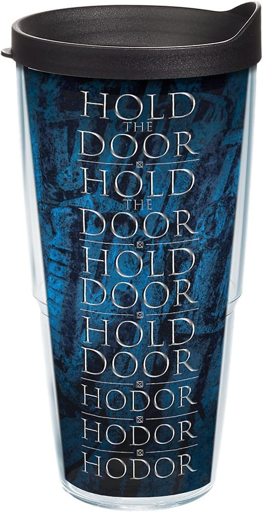 """Hold the Door"" Hodor Insulated Travel Tumbler"