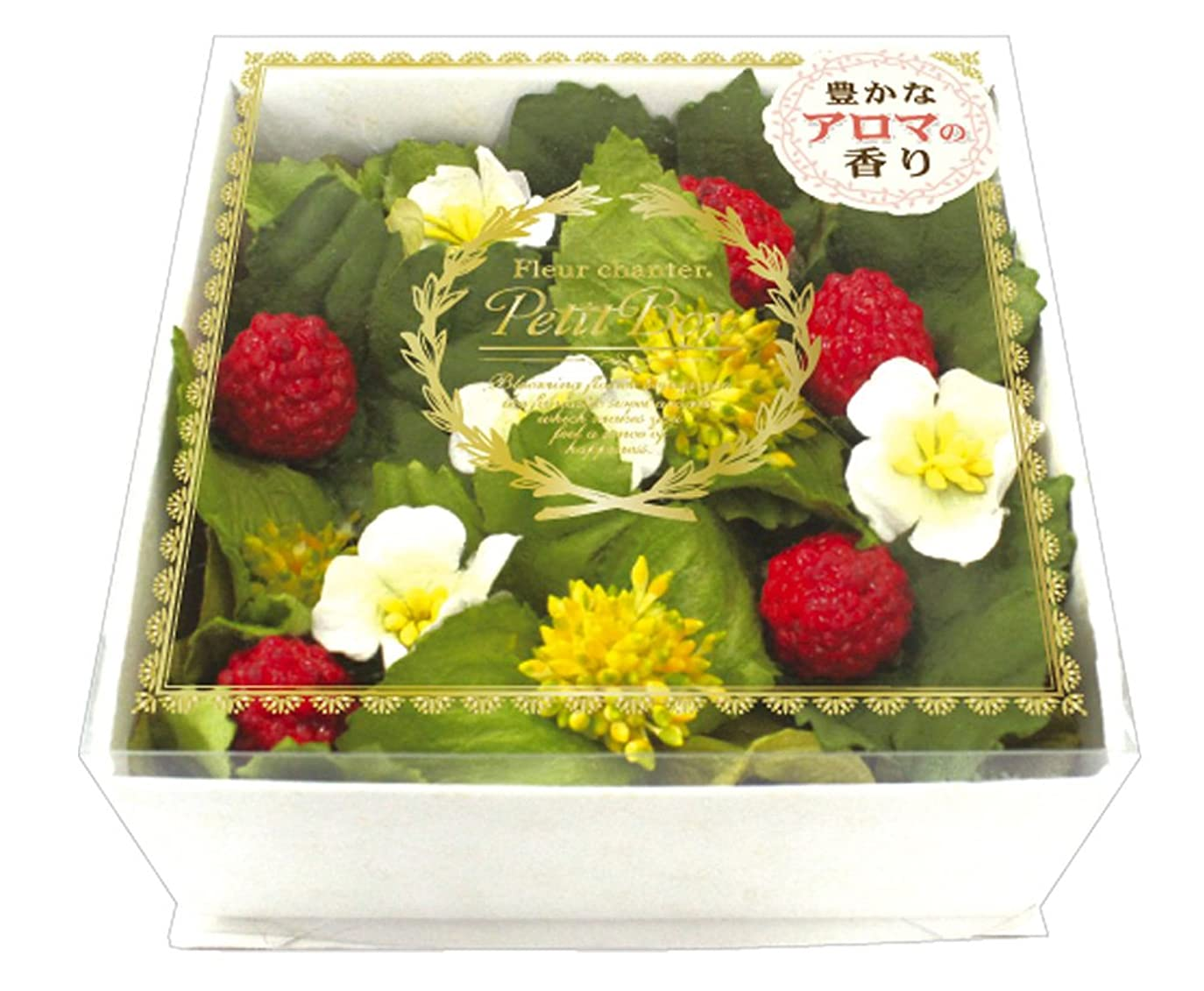 ドーム絶え間ない裕福なノルコーポレーション ルームフレグランス フルールシャンテ ボックス プチ フレッシュストロベリーの香り OA-LAB-2-5