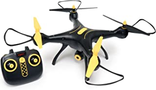 Tenergy Syma X8SW Wi-Fi FPV Quadcopter Drone 720P HD Camera Altitude Hold RC 2.4G 4CH 6 Axis, Black/Yellow