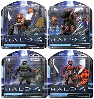 McFarlane Toys Halo 4 Series 1 Action Figure Set