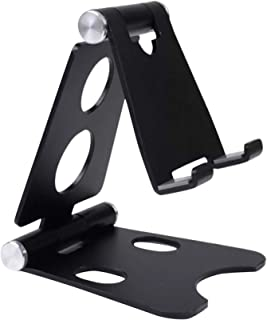 Pk-Panda Adjustable Cell Phone Stand for Mobile Ipoad & Tablets - Mini Phone Holder for Desk, Portable Small Size Desktop ...