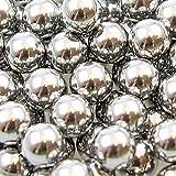 500 Stück Orig. Shoot-Club Marken- Schleudermunition Kaliber 8 mm Stahlkugeln Schleuder Munition für Katapult - Zwille