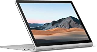 Microsoft Surface Book 3 Convertible Notebook, Intel Quad Core 10th Gen i7-1065G7 1.3Ghz, 32GB, 512GB SSD, 13.5 Inch Touch...