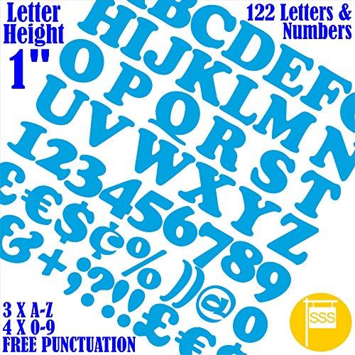 Letters & Numbers Pack van 122 stuks X 1