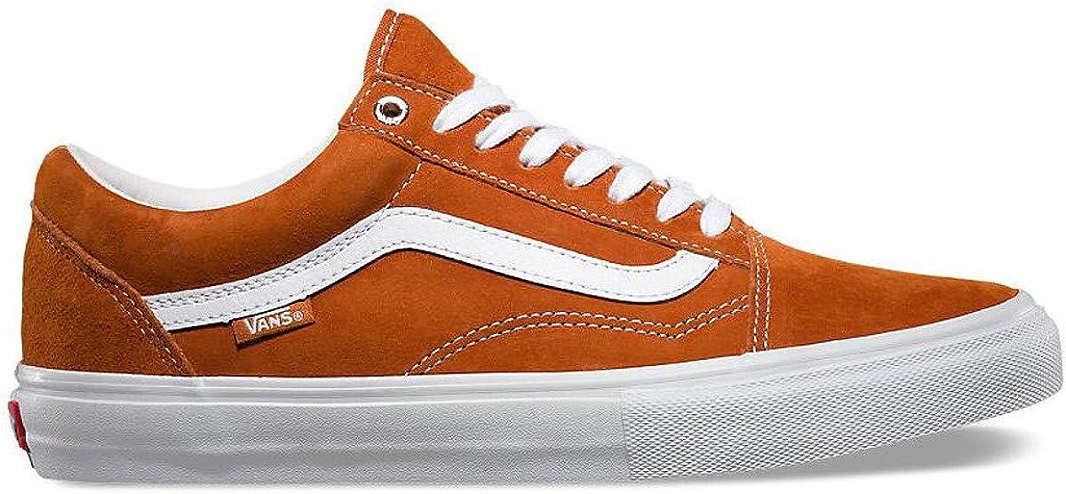 Vans Old Skool PRO, Scarpe da Skateboard Uomo Arancione Dark ...