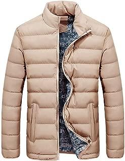 WensLTD Down Jacket, Men's Winter Warm Light Down Jacket Weatherproof Winter Coat