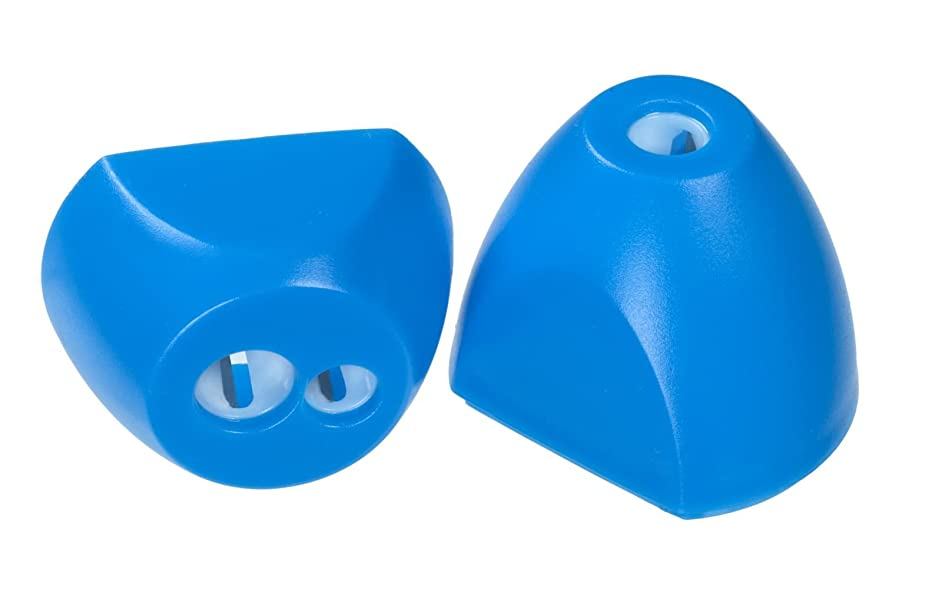 Linex 400082027?Triple Pack Pencil Sharpener Pencil Sharpener Blue for Lead and Coloured Pencils, Standard and Jumbo Pens, Spitz Waste