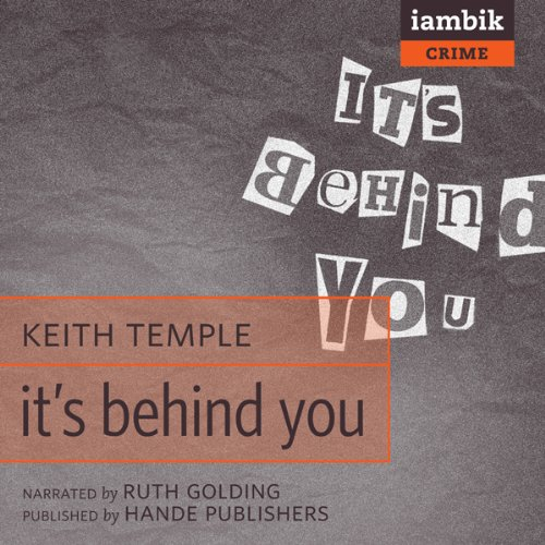 It's Behind You audiobook cover art