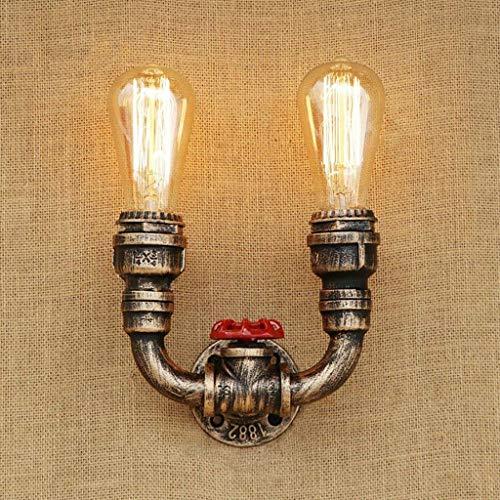 MOZUSA el Norte de Europa Hotel Cafe Bar Living Room lámpara de Pared, lámparas de decoración de la Pared, American Vintage Pared lámpara de Pared del Faro de Agua Industrial del café del Restaurante