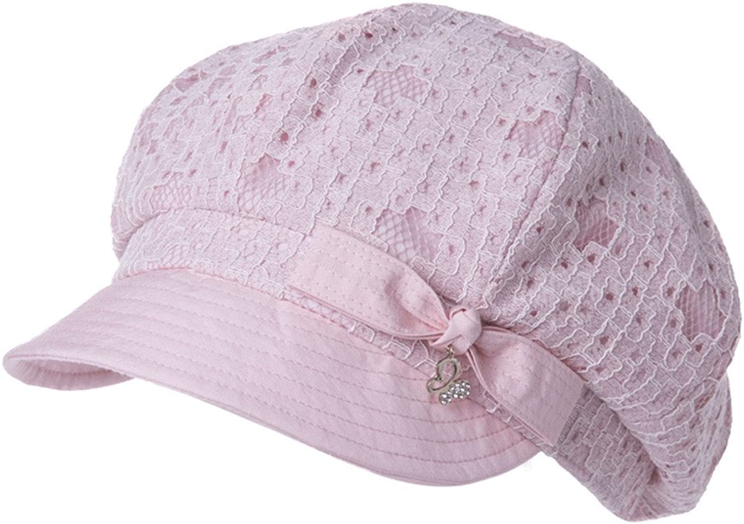 MSZYZ female all-match Lace Cap spring summer leisure hat