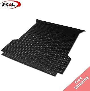 R&L Racing 2001-2003 for Ford F150 Rubber Diamond Floor Mat Carpet   Black Styleside 5 Ft Short Truck Bed