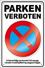 ORIGINAL Verkehrszeichen Nr 283 Halteverbot Verkehrsschild Schild Strassenschild