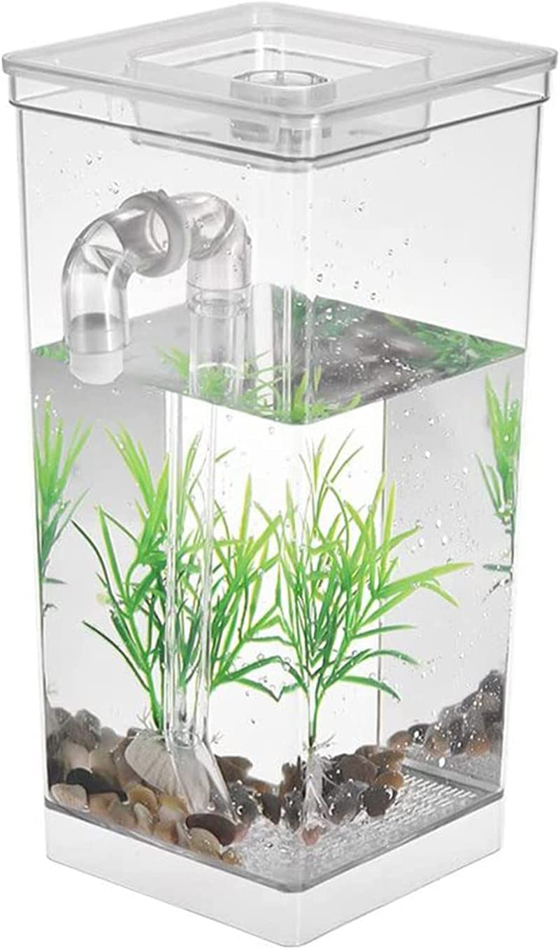 N\ A Surprise price Self Cleaning Tank Transparent Fish Hatchery Max 84% OFF Breeding