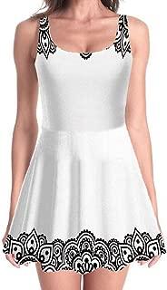 Heels and Dresses Women's Cute Dress Multicolor Mini Party Dress Skater Dress