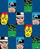 Marvel Spiderman Micro Plush Fleece Throw Blanket