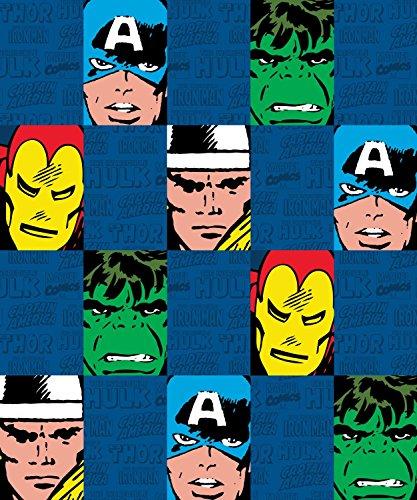 "MARVEL Spiderman Comic Fleece Throw, 50"" x 60"""