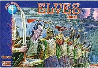 Dark Alliance Red Box Figures - Elves Set 1 - 40 Figures in 10 Poses - 1/72 Scale
