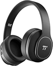 Bluetooth Headphones, TaoTronics Active Noise Cancelling Headphones, Durable Over Ear Headphones Soft Protein Ear Pads & 2...