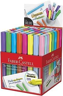 Marca Texto Grifpen 8 Cores Sortidas 70 Unidades, Faber-Castell