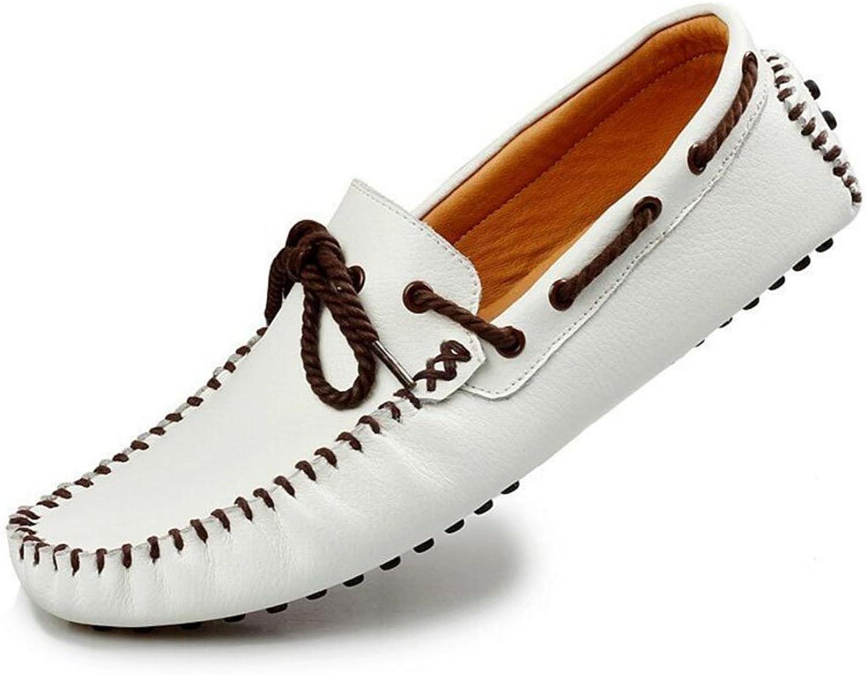BAI-Light Herrenschuhe Leder Spring  Fall Smart Casual Formale Spitze Komfort Loafers Hochzeit Casual Party  Abend Outdoor-Büro  Karriere Fahr Schuhe (YAN),3,40