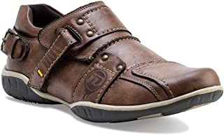 ID Men's Brown Casual Shoes