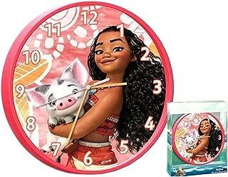 Childrens Wall Clock, Vaiana Moana Wall Clock, Officially Licensed,Brand