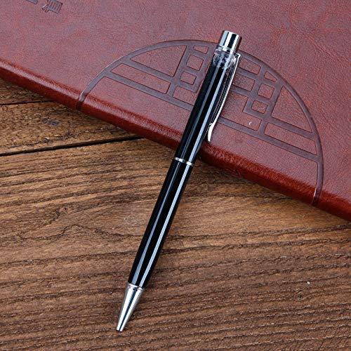 3Pcs Metall Stift Stift Kreative Kugelschreiber Schwarz