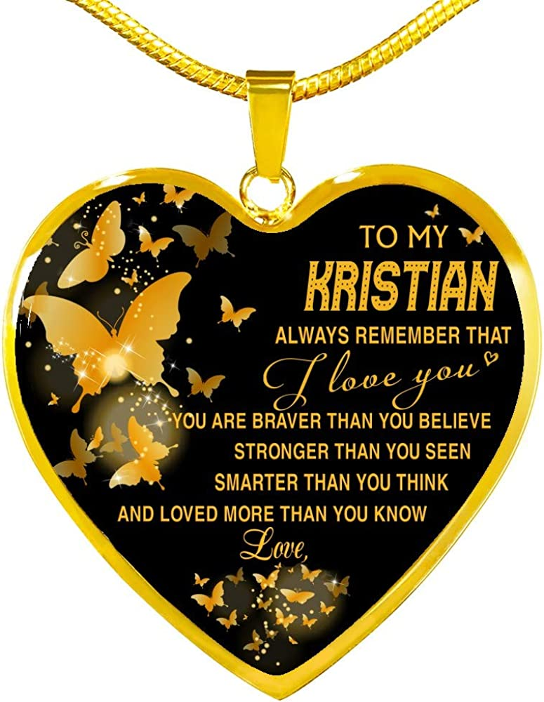 Deluxe Valentine's Day Gifts for Year-end annual account Her Wife Remembe Always Kristian My to