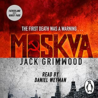 Moskva                   By:                                                                                                                                 Jack Grimwood                               Narrated by:                                                                                                                                 Daniel Weyman                      Length: 13 hrs     97 ratings     Overall 4.2
