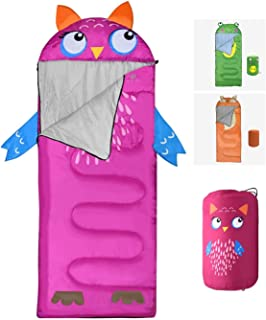 Animal Sleeping Bag, Outdoor & Indoor Use, Warm and Cold Weather, Water Resistant & Durable, Ideal for Traveling, Hiking &...
