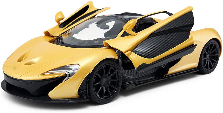 Auto Fernsteuerungsauto-Kinderspielzeug-Auto öffnen die Tür, die Sportwagen-Modell auflädt (Farbe   Gelb) B07JVRSVH2 Realistisch  | Deutschland Online Shop