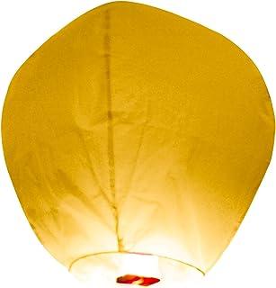 SKYLANTERN Lanterne Volante Lucilea Papier Blanc 50 x 80 cm - Lanterne Chinoise Volante Blanche - Lanterne Papier idéal po...
