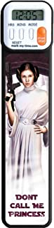 Mark-My-Time 3D Star Wars Leia Blaster Digital Bookmark and Reading Timer