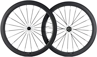 SunRise Bike 25mm U-Shape Wheel 50mm Carbon Fiber Bike Wheelset 700c Clincher