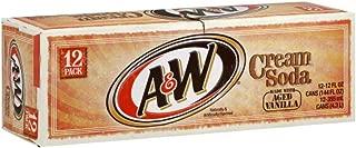 A&W Cream Soda 12 Oz (Pack of 12)