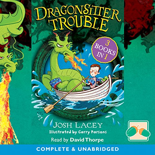 Dragonsitter Trouble cover art