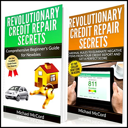 Credit Repair: 2 Books in 1 audiobook cover art
