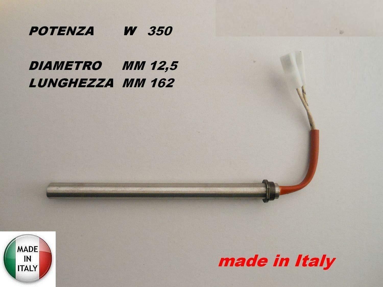 Buj/ía de encendido para estufa de pellets; con brida; Diamentro 12,5/mm; 170/mm 160/mm 350/W